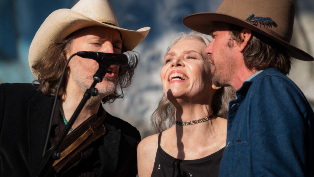 Gillian Welch, David Rawlings, and Willie Watson (Photo by Jon R. Luini)