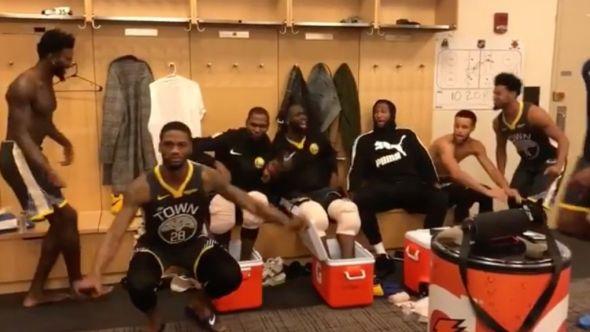 Golden State Warriors trolling Fergie