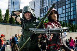 Green Arrow and Arsenal New York Comic Con 2018 Ben Kaye-42