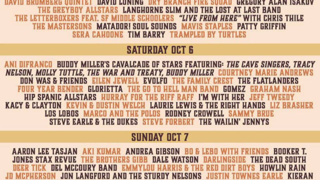 hardlystricklybluegrass 2018 Hardly Strictly Bluegrass Shows That a Free, Down Home Festival Can Outshine the Competition