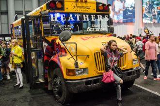Heathers School Bus New York Comic Con 2018 Ben Kaye-52
