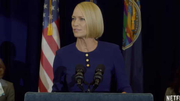 House of Cards Robin Wright Trailer Netflix