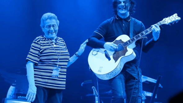 Jack White mom Poland Warsaw birthday sto lat