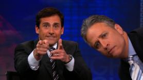 Jon Stewart and Steve Carell