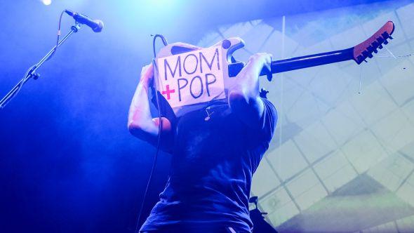 Mom+Pop 10th Anniversary Ben Kaye Tom Morello Guitar