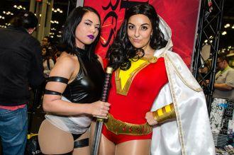Psylocke Shazam New York Comic Con 2018 Ben Kaye-81