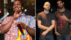 Pusha-T, Noah 40 Shebib Drake baby feud drama leak