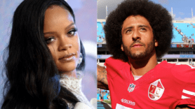 Rihanna and Colin Kaepernick