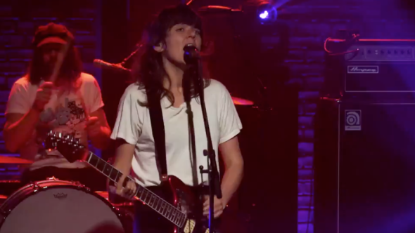 Courtney Barnett on Late Night with Seth Meyers
