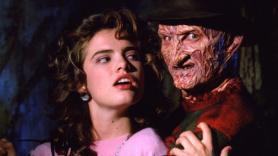 Heather Langenkamp and Robert Englund, A Nightmare on Elm Street
