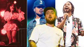 SZA Chance the Rapper Miguel Mac Miller Benefit Concert