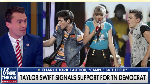 Taylor Swift Tennessee Charlie Kirk Fox & Friends