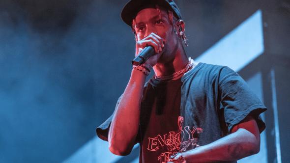 Travis Scott, Austin City Limits 2018, photo by Amy Price