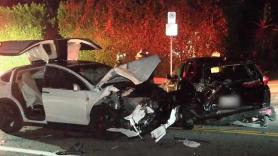 Tyler the creator tesla model x car crash