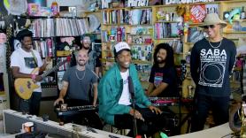 Watch Saba's Tiny Desk Concert for NPR