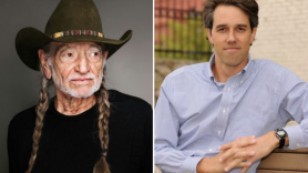 willie nelson vote em out beto o rourke
