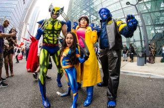 Wolverine X-23 Jubilee Beast X-Men New York Comic Con 2018 Ben Kaye-131