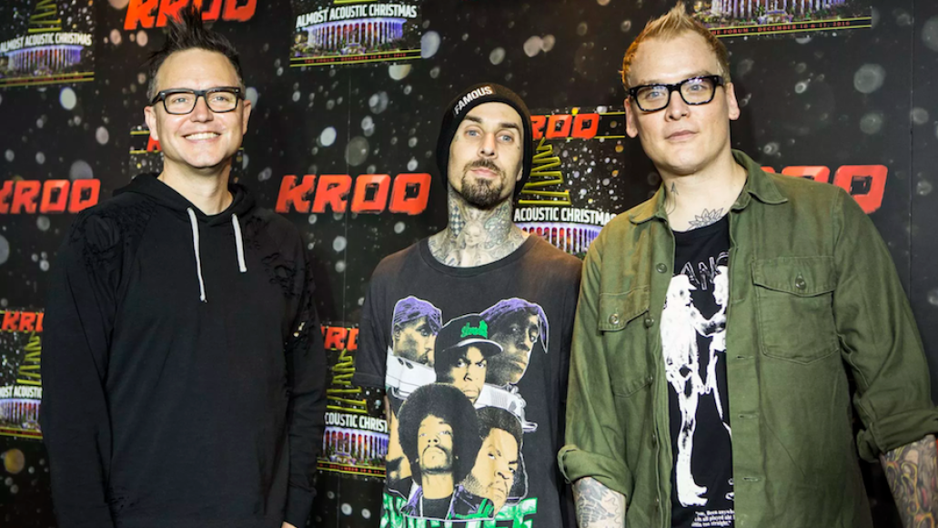 Blink-182, Photo by Philip Cosores band name ian karmel pronunciation