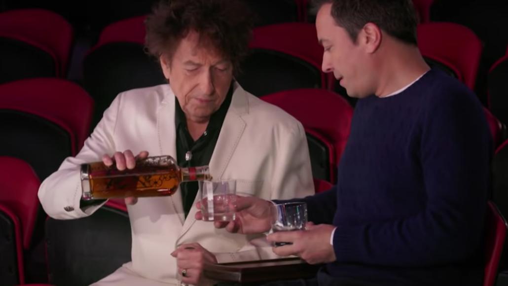 Video Bob Dylan Jimmy Fallon Circus Whiskey