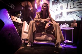 Cyber // Iceland Airwaves // Photo by Lior Phillips