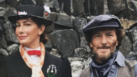 Eddie and Jill Vedder dress up for Halloween