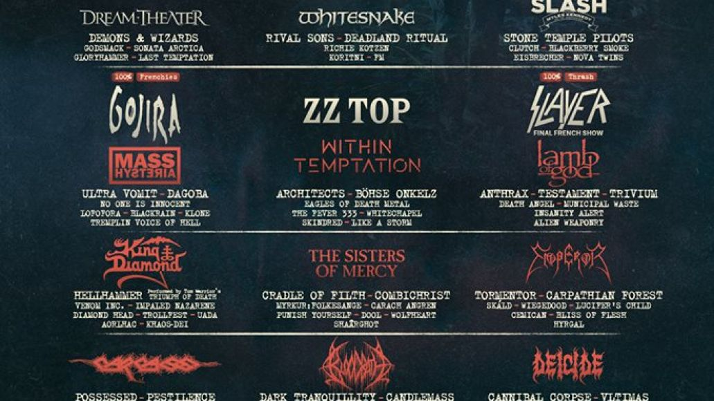 Hellfest 2019 lineup
