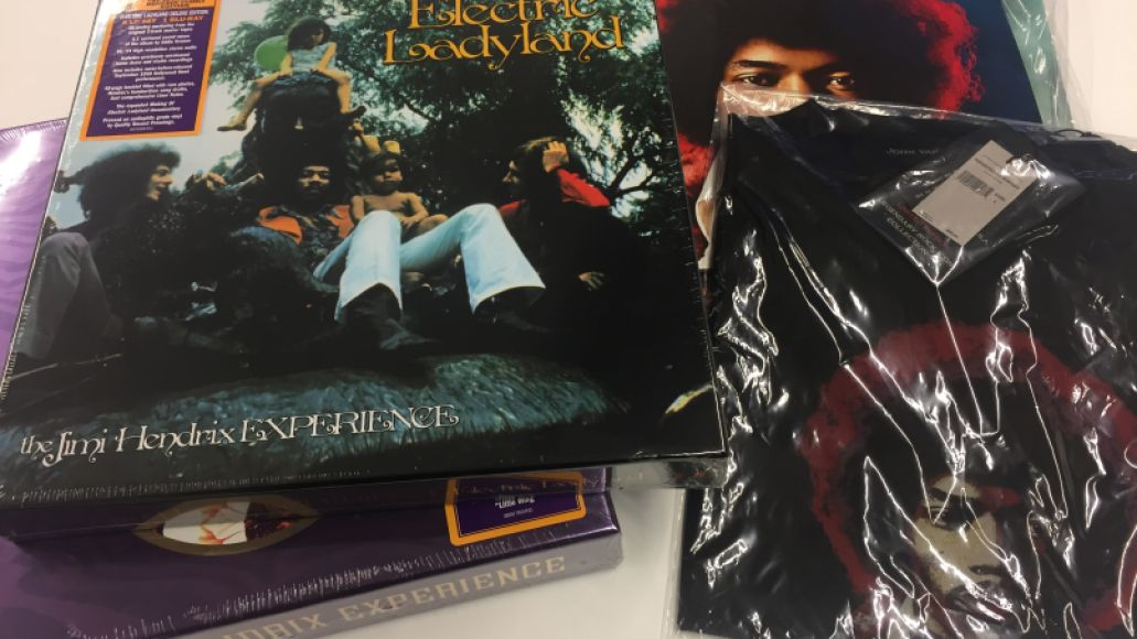 hendrix prize pack Win Jimi Hendrix vinyl prize pack featuring Electric Ladyland, studio albums, and box sets
