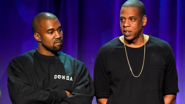 Kanye West Jay-Z What's Free Red Hat feud tweet