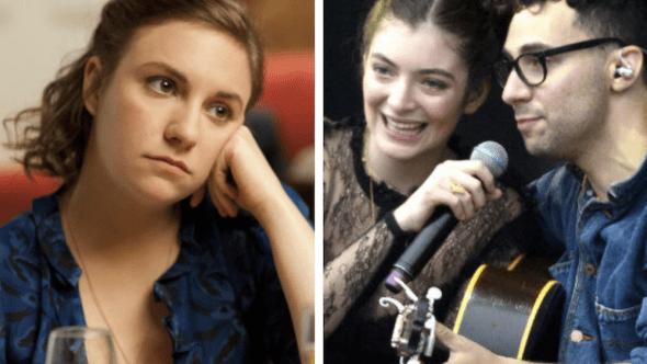 Lena Dunham and Lorde no longer talk