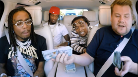 Migos James Corden Carpool Karaoke Cash