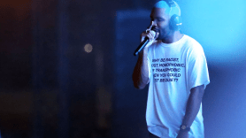 Frank Ocean // Photo by Killian Young free merch voting