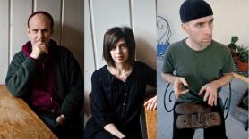 Ian MacKaye, Joe Lally, Amy Farina new band