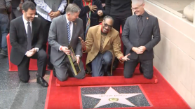 Snoop Dogg Hollwood Walk of Fame Star Ceremony