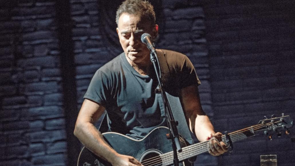 Bruce Springsteen on Broadway, photo by Rob Demartin album stream