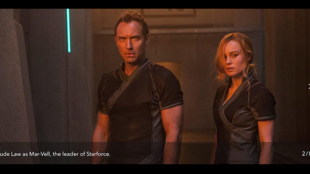 Captain Marvel Jude Law Mar-Vell Starforce Brie Larson