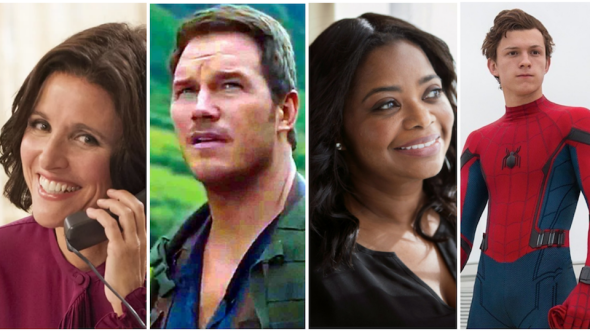 Julia Louis-Dreyfus, Chris Pratt, Octavia Spencer, and Tom Holland Pixar Onward