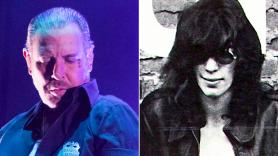 Mike Ness and Joey Ramone