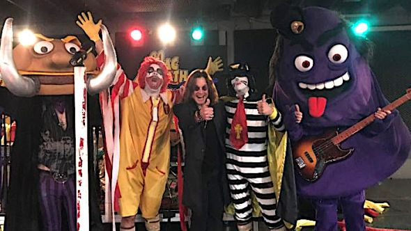 Ozzy Osbourne with Mac Sabbath