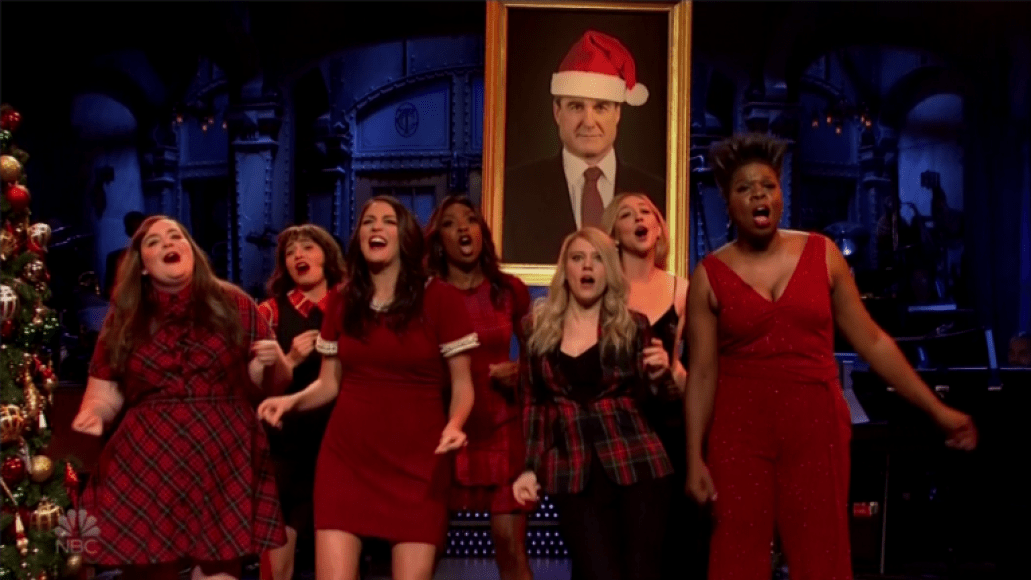 All I Want for Christmas Is Mueller, photo by NBC