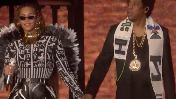 Watch Video Beyoncé and JAY-Z performing at Global Citizen: Mandela 100
