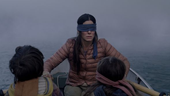 bird box netflix film review sandra bullock horror