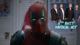 Deadpool defending Nickelback