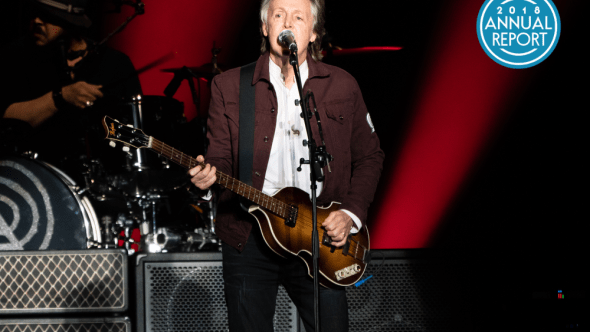 Paul McCartney at Austin City Limits, photo by Amy Price