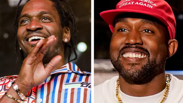 Pusha-T says Kanye doesn't wear MAGA hat anymore video