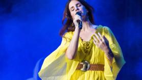 Lana Del Rey debuts new songs as Jack Antonoff's benefit concert, photo by David Brendan Hall