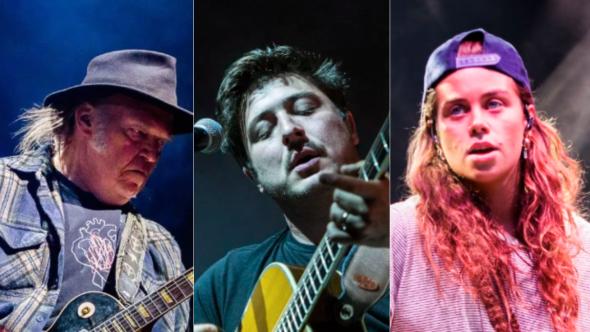 Neil Young (Debi Del Grande), Mumford and Sons (Philip Cosores), Tash Sultana (Caroline Daniel)
