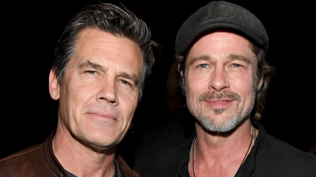 Josh Brolin and Brad Pitt, Tom Morello, I Am The Highway: A Tribute To Chris Cornell, photo by Kevin Mazur/Getty Images for The Chris Cornell Estate