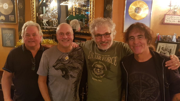 Iron Maiden's original lineup reunited for first time since 1976