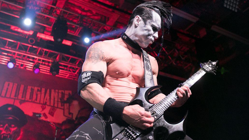 Doyle Wolfgang Von Frankenstein performs with Metal Allegiance