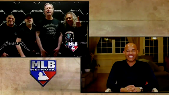Metallica Congratulate Mariano Rivera